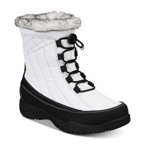 Sporto Jenny White Water-Resistant Winter Boot 8.5